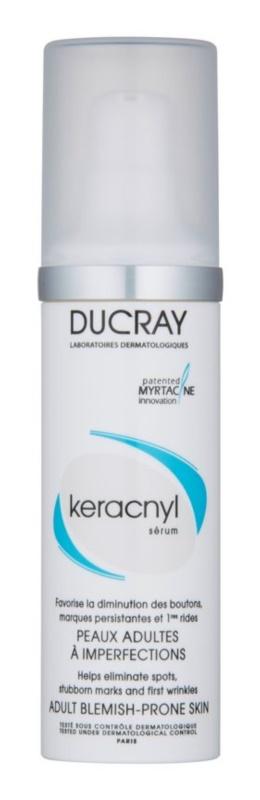 Ducray Keracnyl ser crema pentru pielea cu imperfectiuni