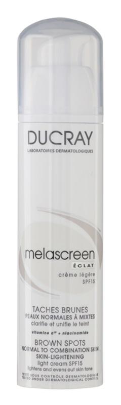 Ducray Melascreen Lichte Dagcrème tegen Pigment Vlekken  SPF 15