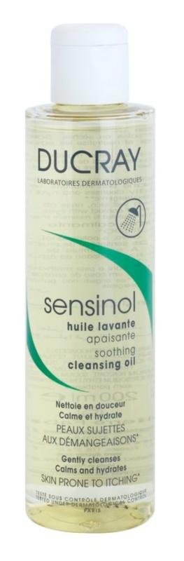 Ducray Sensinol łagodzący olejek pod prysznic o dzłałaniu nawilżającym