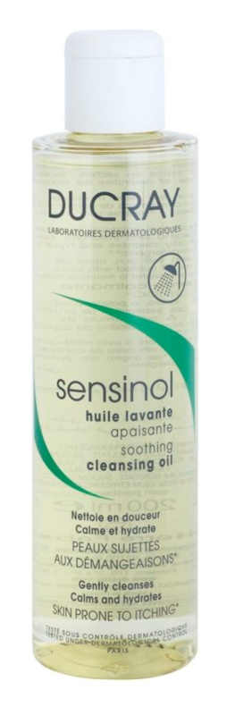 Ducray Sensinol Soothing Shower Oil with Moisturizing Effect