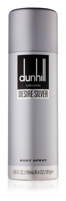 Dunhill Desire Silver tělový sprej pro muže 195 ml