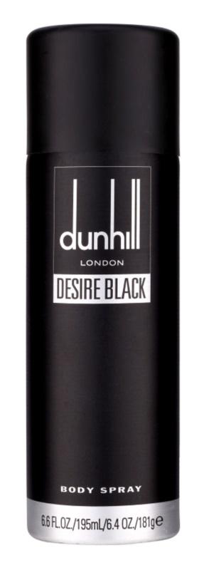 Dunhill Desire Black telový sprej pre mužov 195 ml