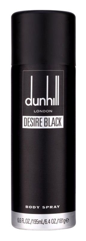 Dunhill Desire Black tělový sprej pro muže 195 ml