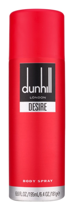 Dunhill Desire Red Body Spray for Men 195 ml