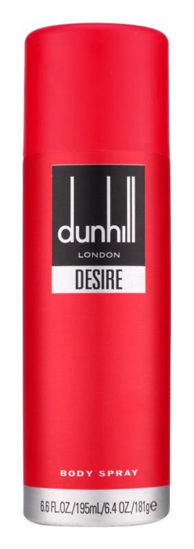 Dunhill Desire Red spray corpo per uomo 195 ml
