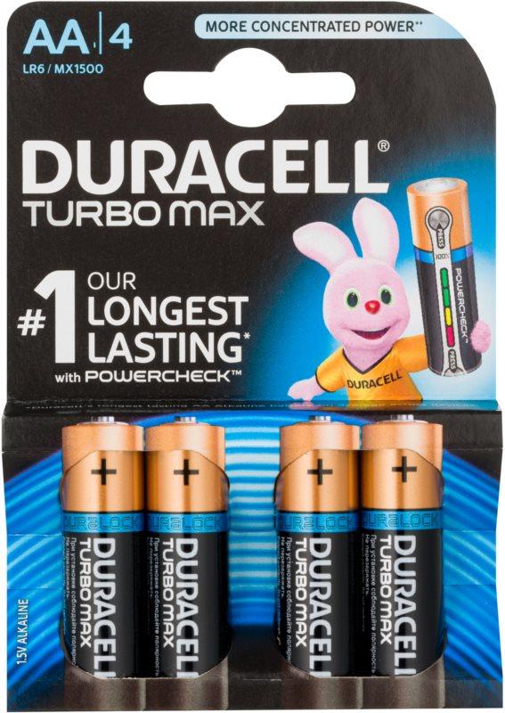 Duracell Turbo Max AA tužková batéria 4 ks
