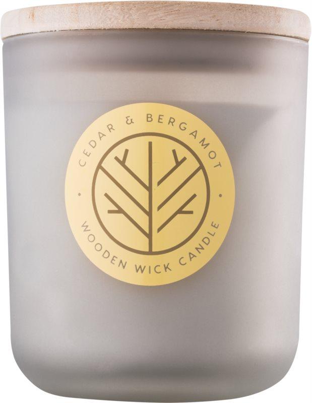 DW Home Cedar & Bergamont illatos gyertya  320,35 g fa kanóccal