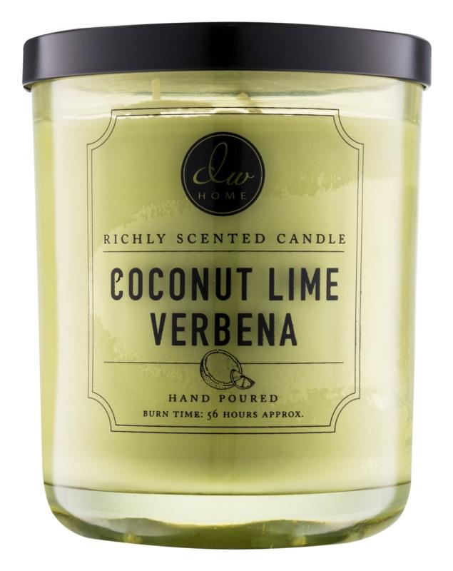 DW Home Coconut Lime Verbena vonná sviečka 425,2 g