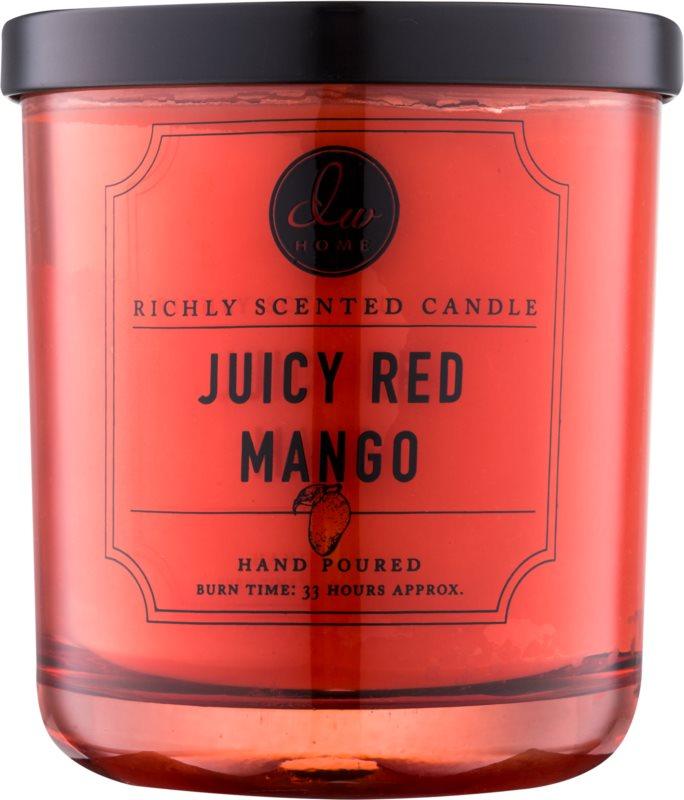 DW Home Juicy Red Mango vonná svíčka 274,9 g