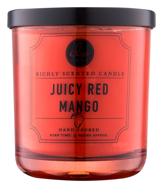 DW Home Juicy Red Mango vonná sviečka 274,9 g