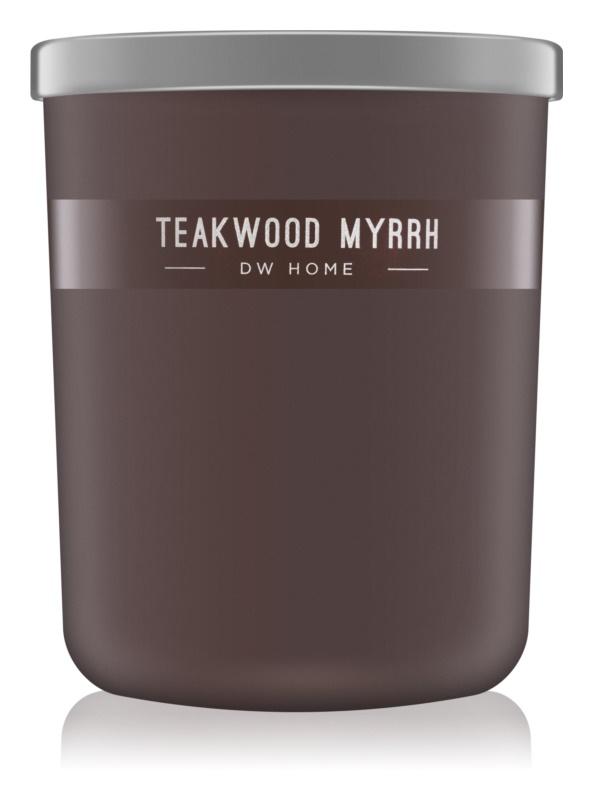 DW Home Teakwood Myrrh Scented Candle 425,53 g