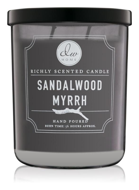 DW Home Sandalwood Myrrh ароматна свещ  425,53 гр.