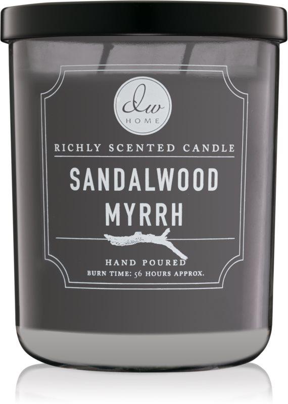DW Home Sandalwood Myrrh illatos gyertya  425,53 g