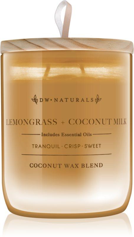DW Home Lemongrass + Coconut Milk dišeča sveča  500,94 g