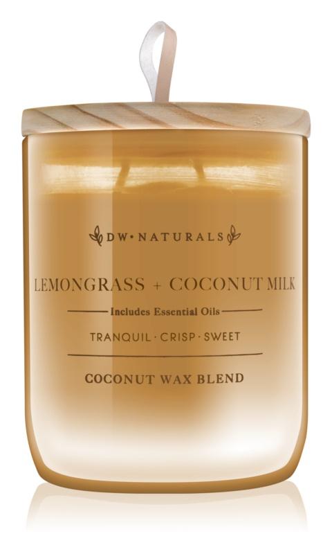 DW Home Lemongrass + Coconut Milk Geurkaars 500,94 gr