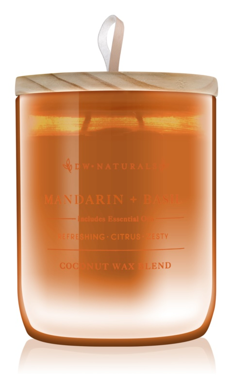 DW Home Mandarin + Basil Scented Candle 500,94 g