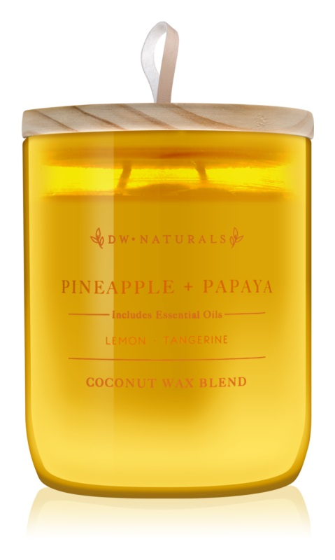 DW Home Pineapple + Papaya candela profumata 500,94 g