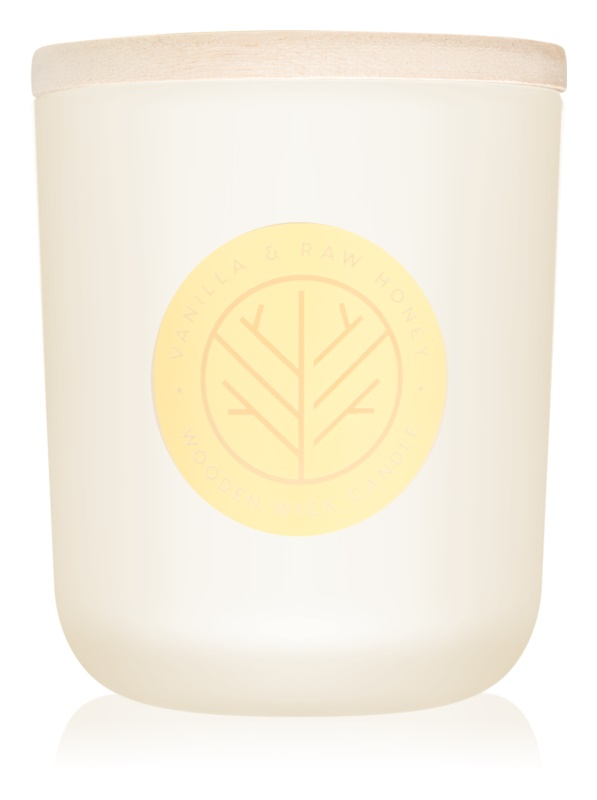DW Home Vanilla & Raw Honey candela profumata 320,49 g con stoppino in legno