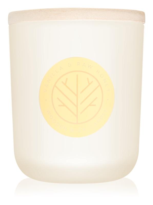 DW Home Vanilla & Raw Honey Duftkerze  320,49 g mit Holzdocht