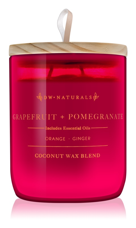 DW Home Grapefruit + Pomegranate Scented Candle 500,94 g