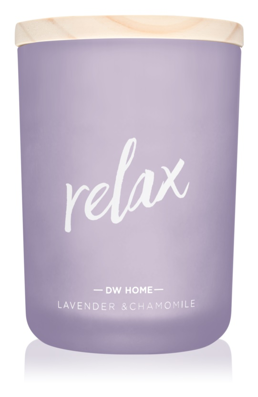 DW Home Relax  bougie parfumée 210,07 g