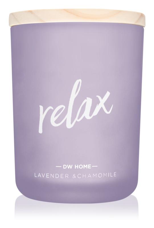 DW Home Relax dišeča sveča  210,07 g