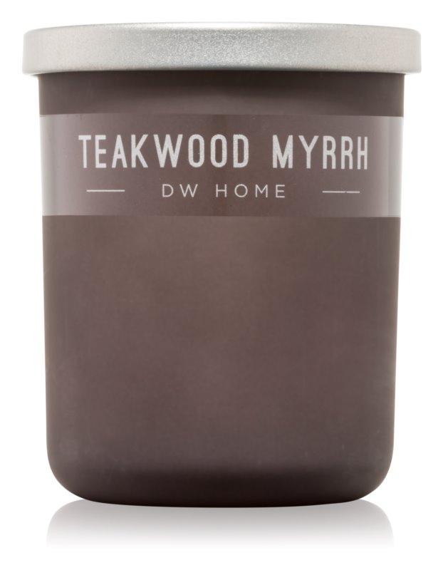 DW Home Teakwood Myrrh bougie parfumée 107,73 g