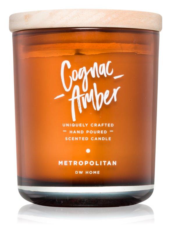 DW Home Cognac Amber vonná sviečka 247,77 g