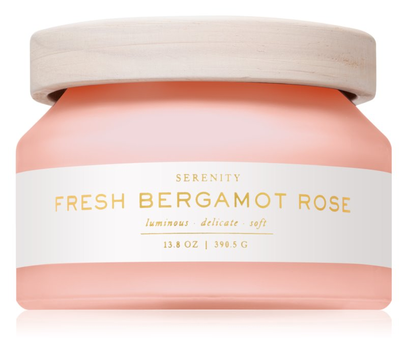 DW Home Fresh Bergamot Rose vonná sviečka 390,5 g