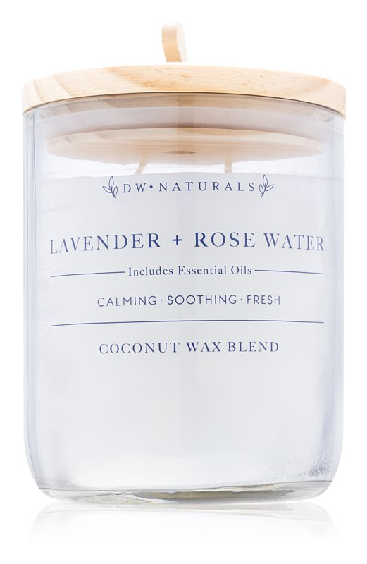 DW Home Lavender + Rose Water bougie parfumée 500,94 g