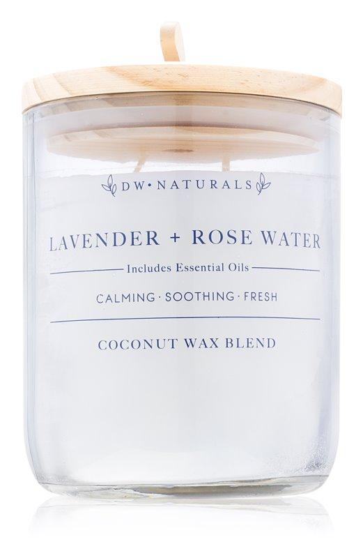 DW Home Lavender + Rose Water vonná sviečka 500,94 g