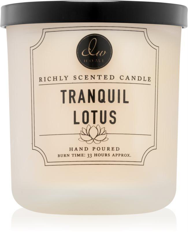 DW Home Tranquil Lotus bougie parfumée 269,32 g