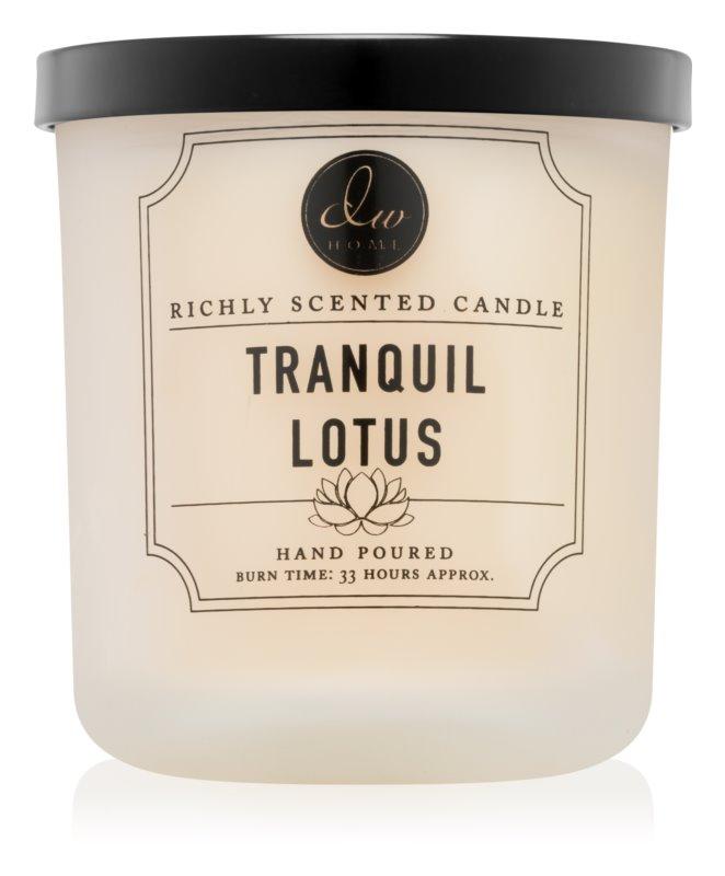 DW Home Tranquil Lotus vonná sviečka 269,32 g