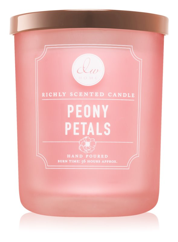 DW Home Peony Petals vonná svíčka 425,53 g
