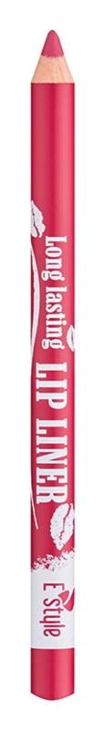 E style Long Lasting Lip Liner стійкий олівець для губ