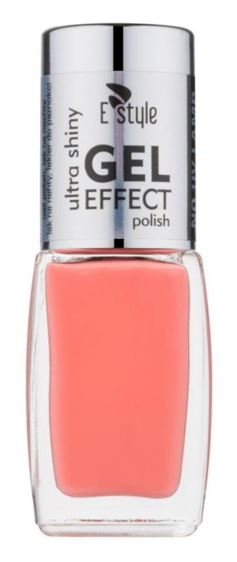 E style Gel Effect gelový lak na nehty bez užití UV/LED lampy