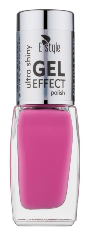 E style Gel Effect gélový lak na nechty bez použitia UV/LED lampy