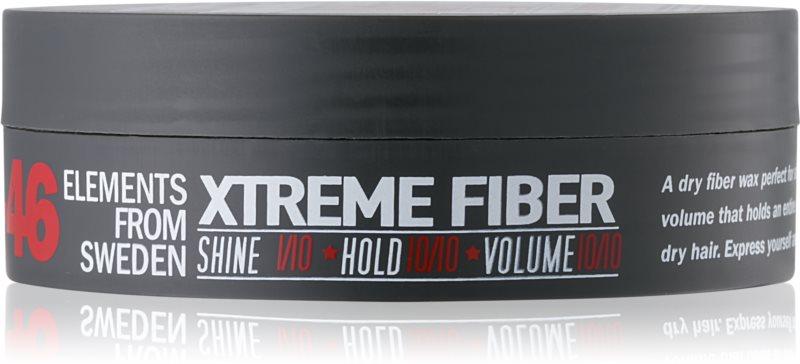 E+46 Styling Ceară de păr cu fixare extra puternică