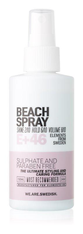 E+46 Styling sprej pre plážový efekt obohatený o minerálne soli