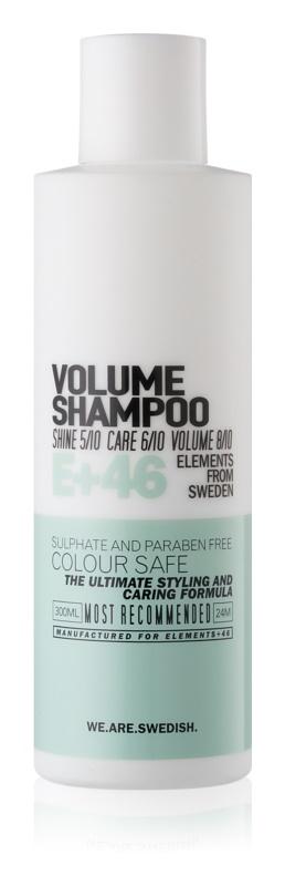 E+46 Volume objemový šampón bez sulfátov a parabénov