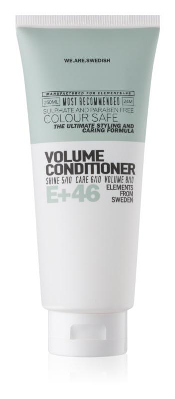 E+46 Volume objemový kondicionér bez sulfátov a parabénov