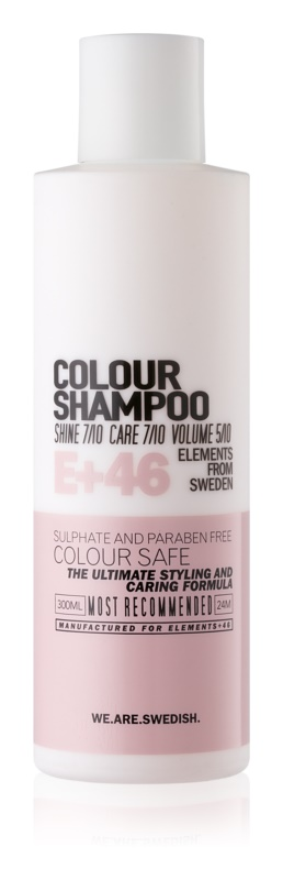 E+46 Colour šampón pre farbené vlasy