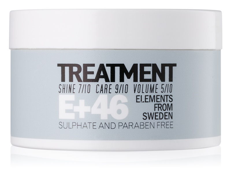 E+46 Treatment Hair Mask without Sulfates and Parabens