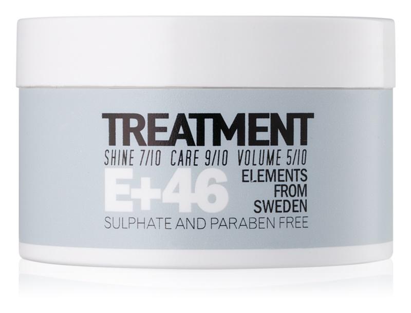E+46 Treatment maska na vlasy bez sulfátov a parabénov
