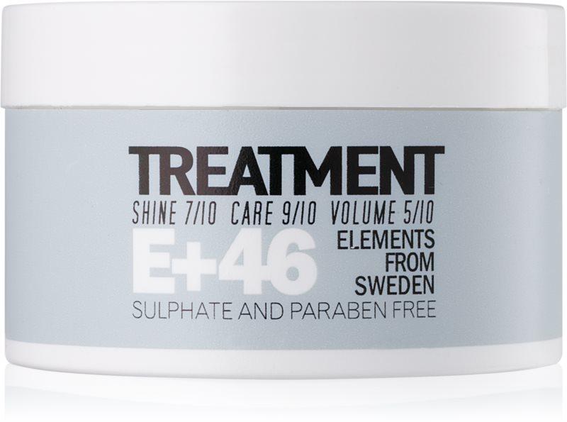 E+46 Treatment maska za lase brez sulfatov in parabenov