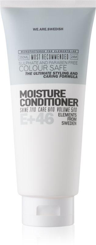 E+46 Moisture hydratačný kondicionér pre suché a slabé vlasy