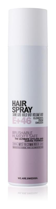 E+46 Styling Hairspray