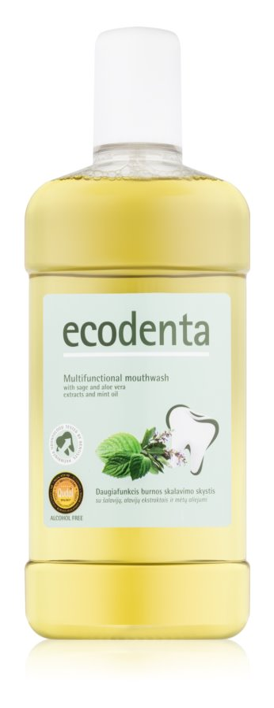 Ecodenta Sage & Aloe Vera & Mint Oil рідина для полоскання  рота