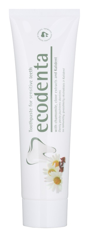 Ecodenta Kalident зубна паста для чутливих зубів