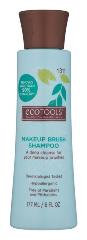 EcoTools Makeup Brush Shampoo шампунь для очищення косметичних пензликів